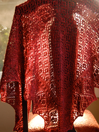 Flower Market Shawl by Allison LoCicero