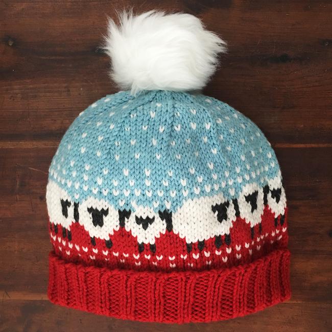 Baa-ble Hat | frecklesandpurls.com
